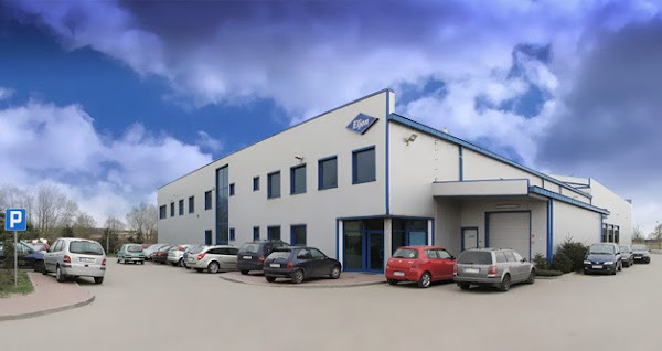 Kalisz - stacja CNG - biurowiec firmy Eljon