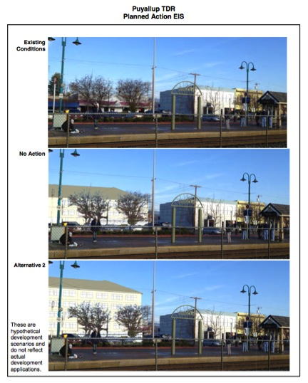 Downtown Puyallup TDR and Planned Action EIS - Three Study Alternatives