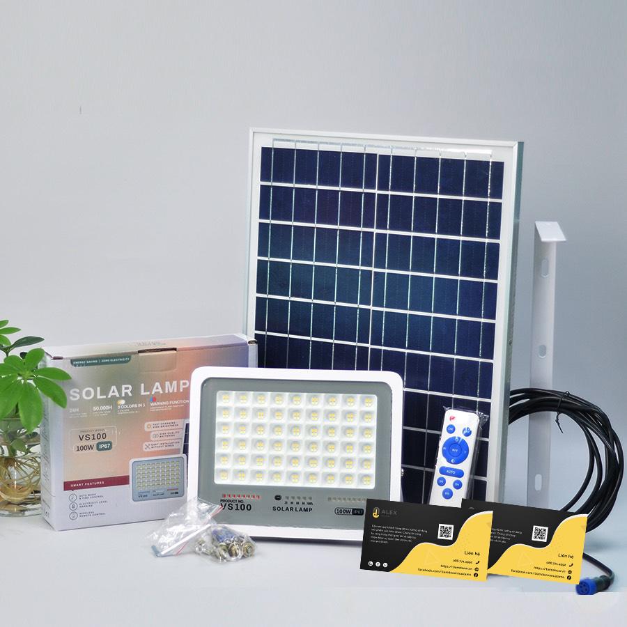 đèn năng lượng mặt trời trong nhà 50W