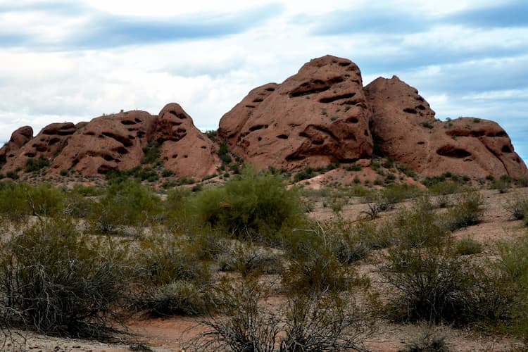 Papago Park buttes