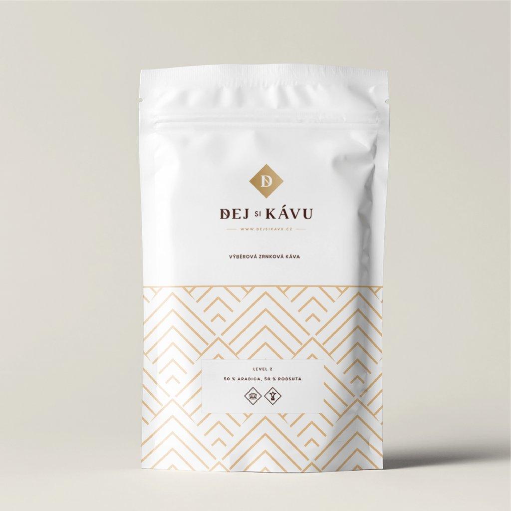 Kvalitní zrnková káva Dejsikávu 100% Arabika