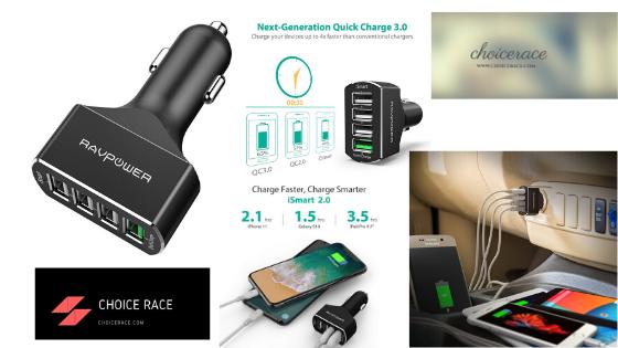 ZMI 36W Fast Dual USB Car Charger, PowerCruise C2