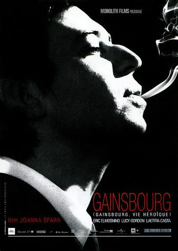 Przód ulotki filmu 'Gainsbourg'