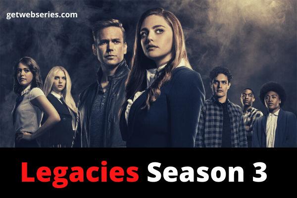 Legacies Season 3 best english web series to watch