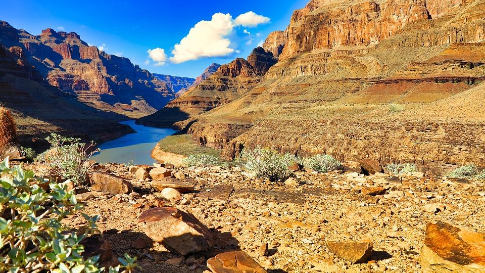 Usa, The Grand Canyon, Landscape, Nature, View