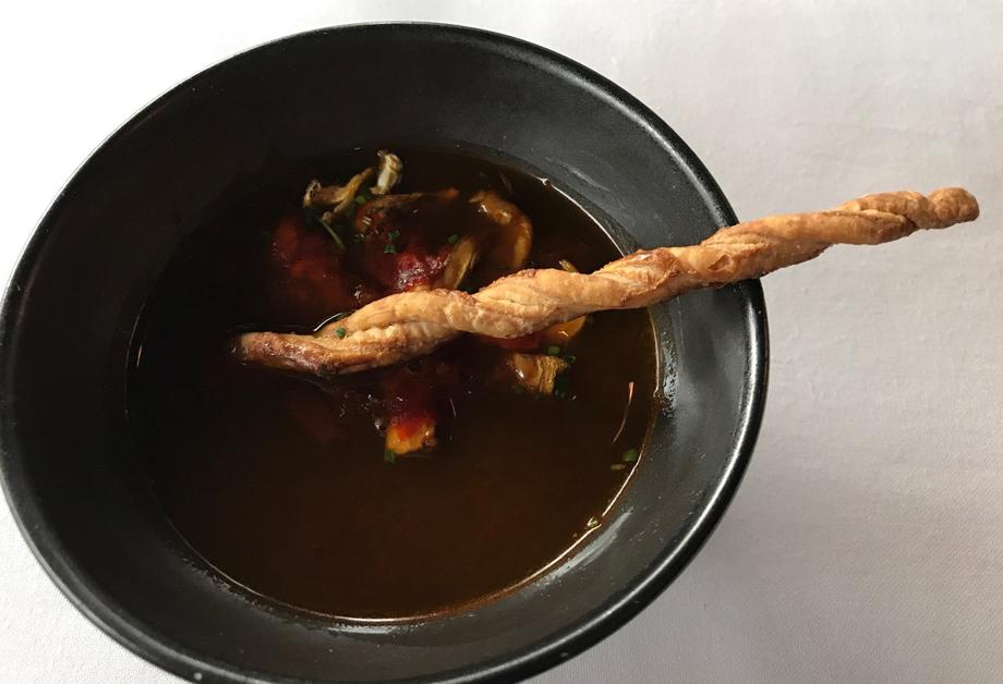 Amaranta: Nuevo menú degustación al centro y para taquear 4