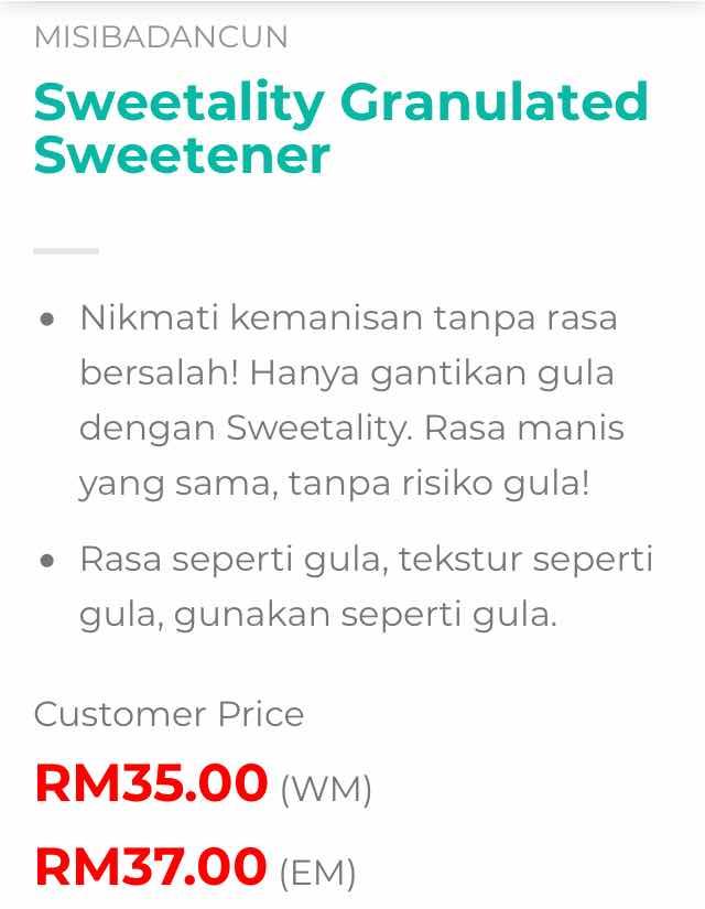 sweetality haio harga murah premium beautiful