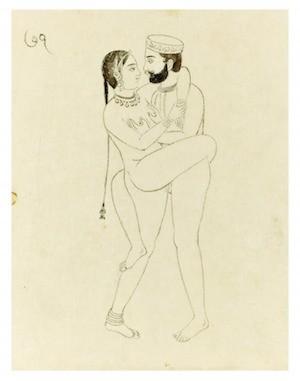 a posição da cortesã do kama sutra