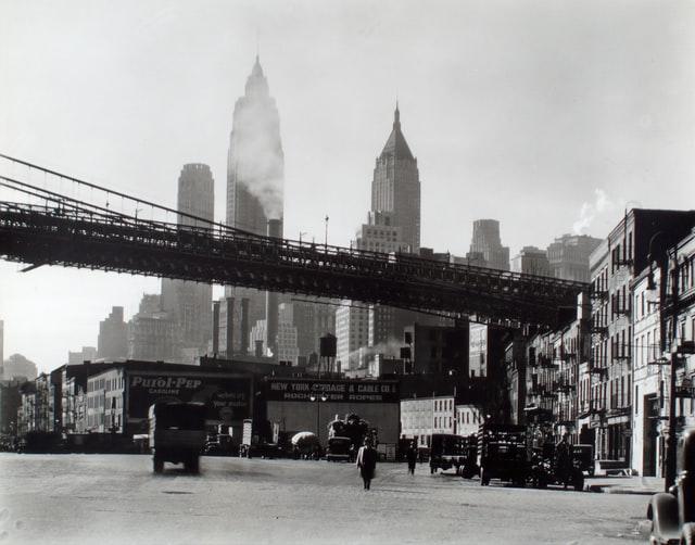 Waterfront, South Street, Manhattan