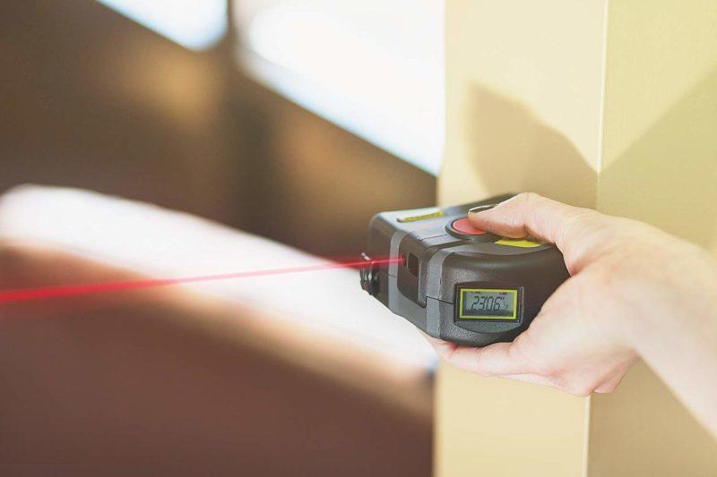 5 Advantages Of Using A Laser Tape Measure