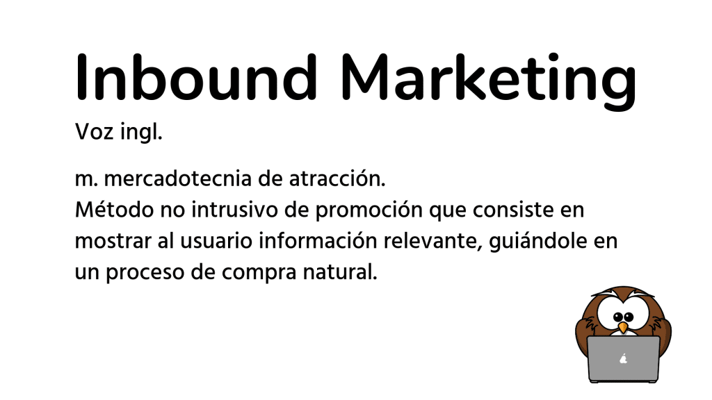 definición de inbound marketing