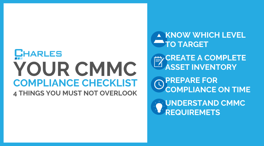 CMMC Compliance Checklist: 4 Things Not To Overlook
