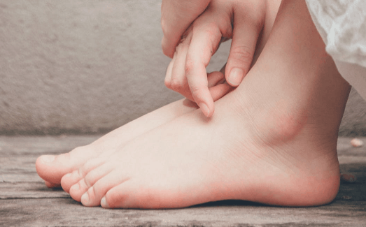 Image of smooth and clean feet
