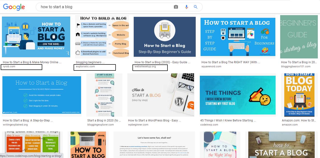 Amateur Blogging mistake: not having good alt text on  images