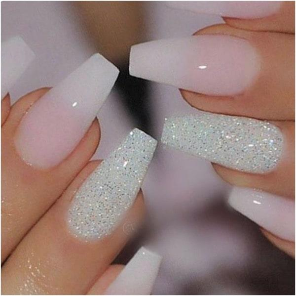 French pink ombre nails