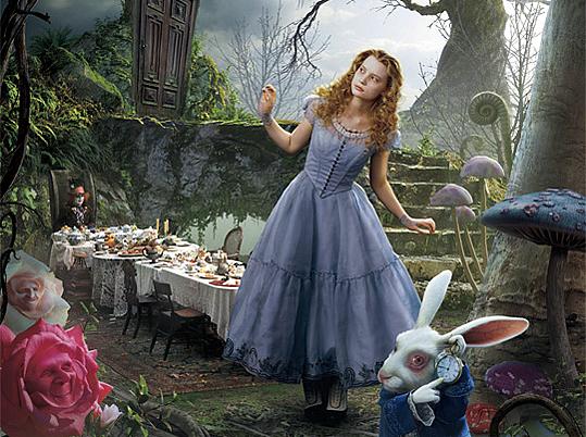 Cinematic Fashion: Alice in Wonderland