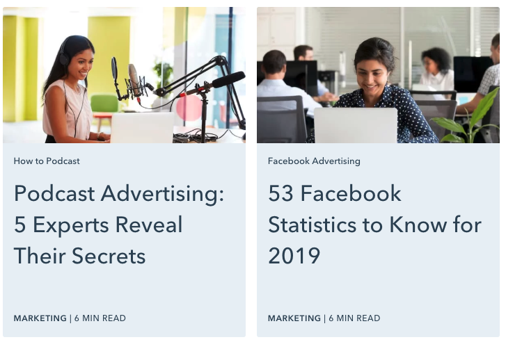 For instance, publications such as HubSpot highlight data-driven statistics in their content headlines.