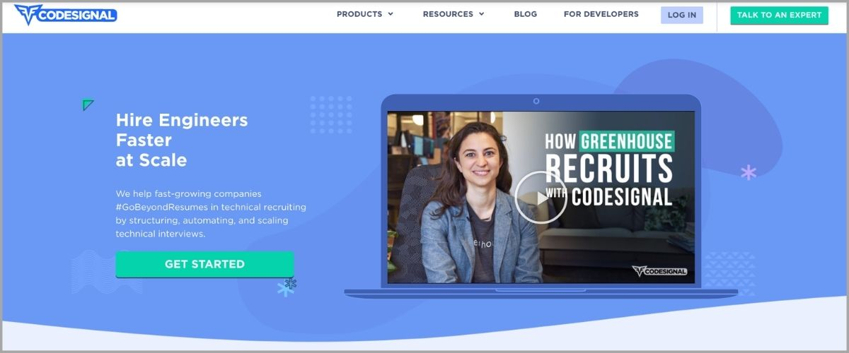 codesignal homepage