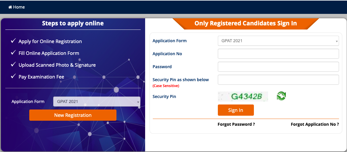 GPAT 2021 Registration