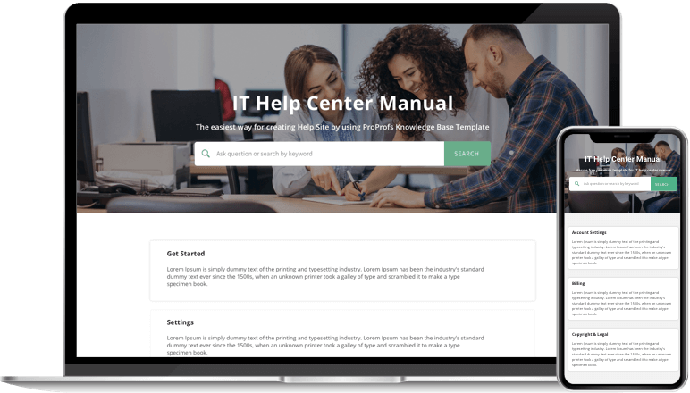 Update Your Self-Service Portal
