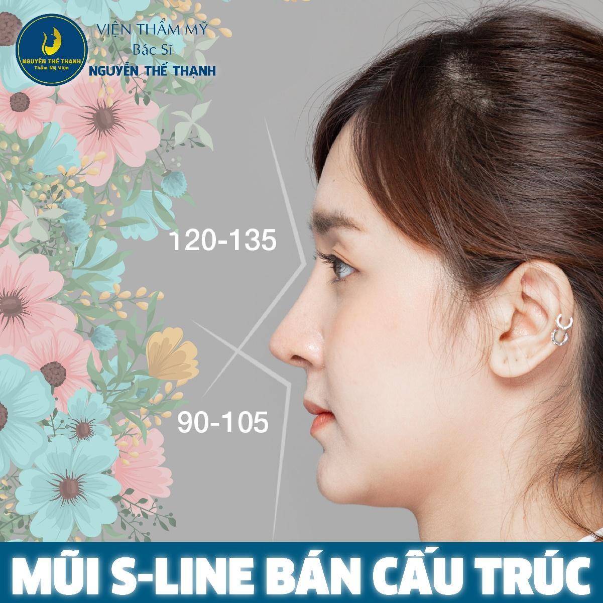 Nâng mũi S-line bán cấu trúc - Mũi đẹp thanh tao - Ảnh 1