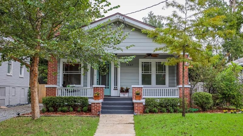 home in the Riverside/Avondale neighborhoods of Jacksonville, FL