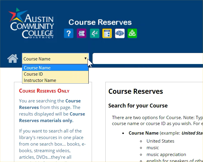 CourseReservesOnly-menu.png