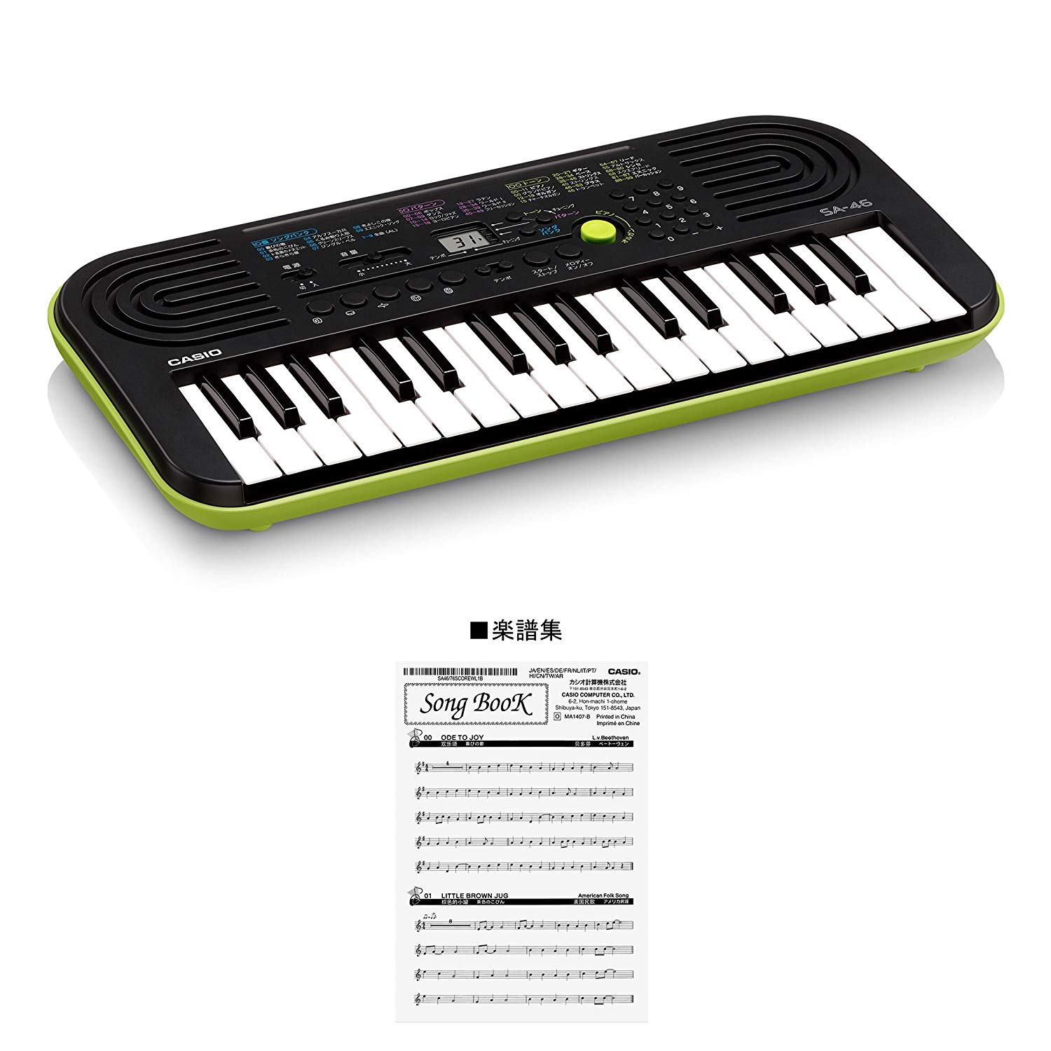 Casio SA-46 32 Musical Mini Keys Keyboard