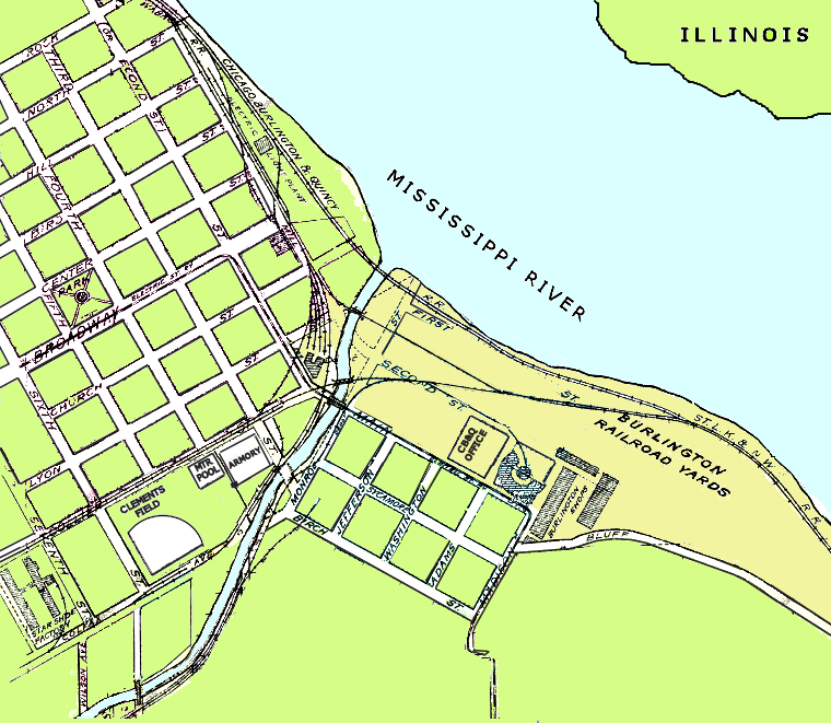 Railroad Map of Downtown Hannibal.png