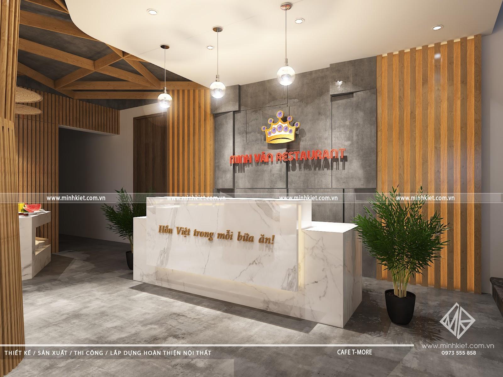 Thiết kế nhà hàng đẹp hút khách – Những mẫu thiết kế nhà hàng cao cấp, sang trọng nhất 2021