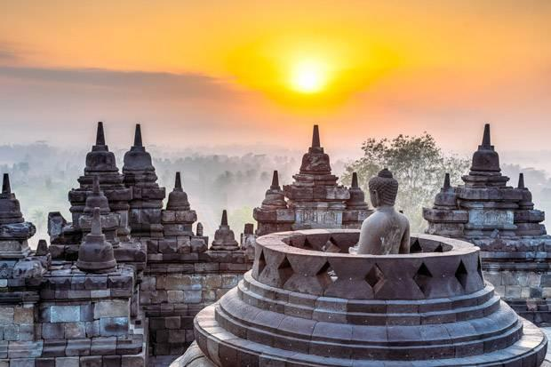 Image result for • Candi Borobudur