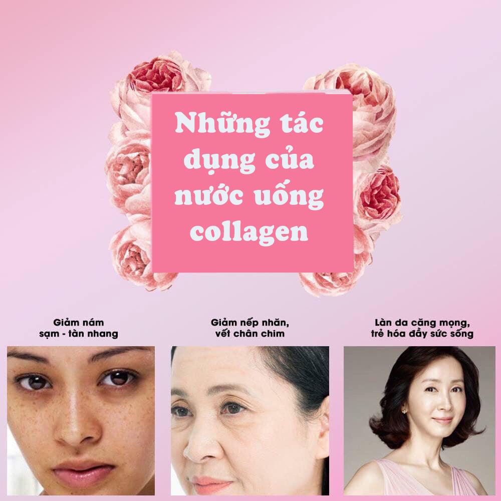 Những tác dụng của nước uống collagen là gì?