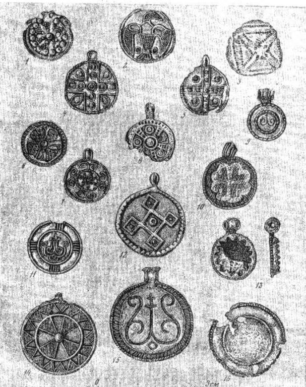Монетовидные привески