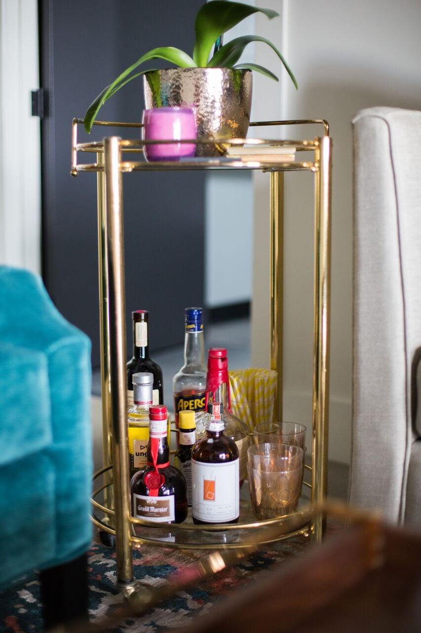 bar cart coworking space calgary hot desks lounge happy hour