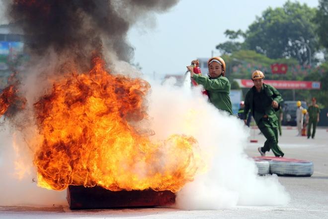 Kết quả hình ảnh cho hình ảnh về lực lượng pccc dân phòng