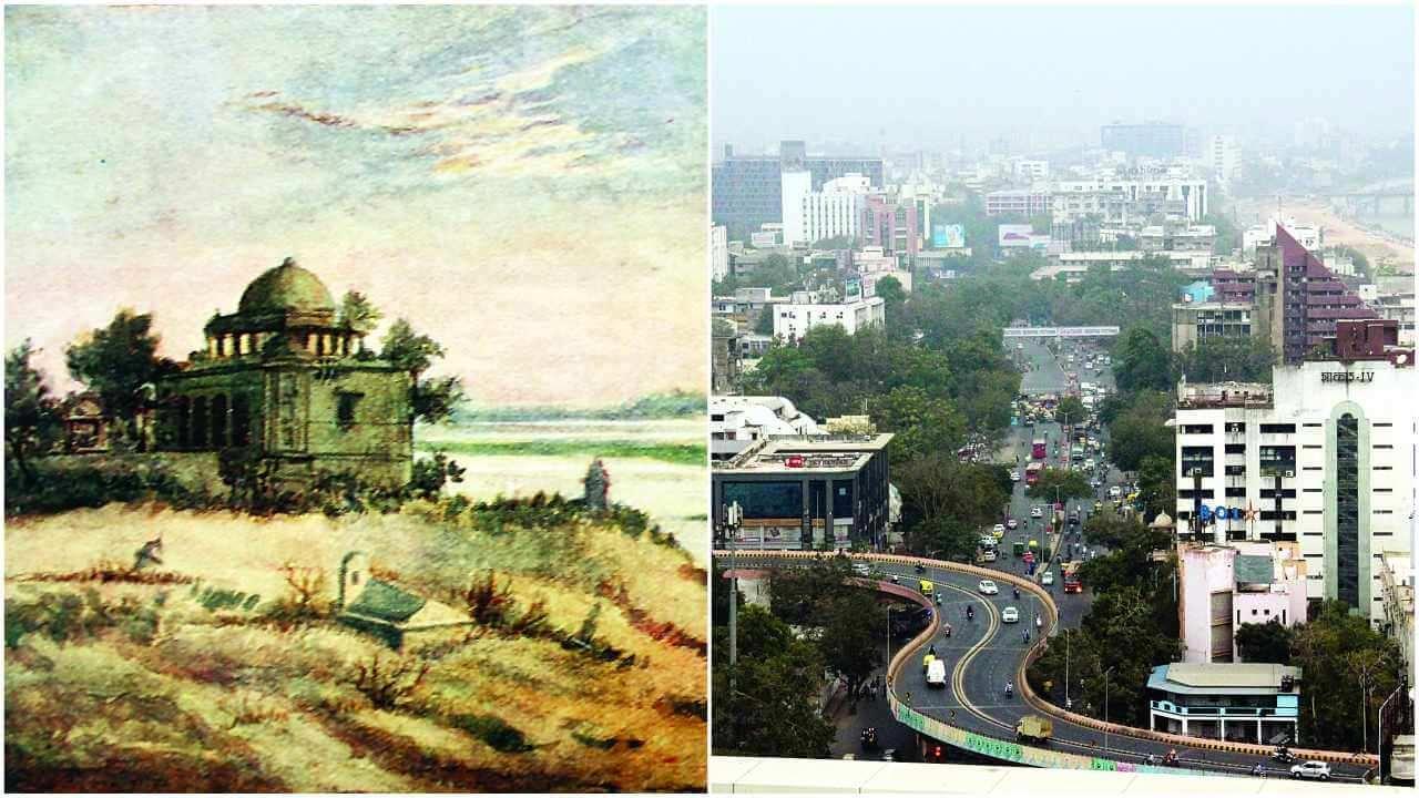 beautiful view of Ahmedabad