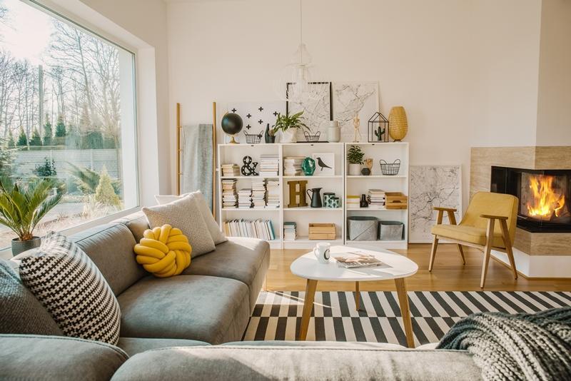contoh dekorasi ruang tamu