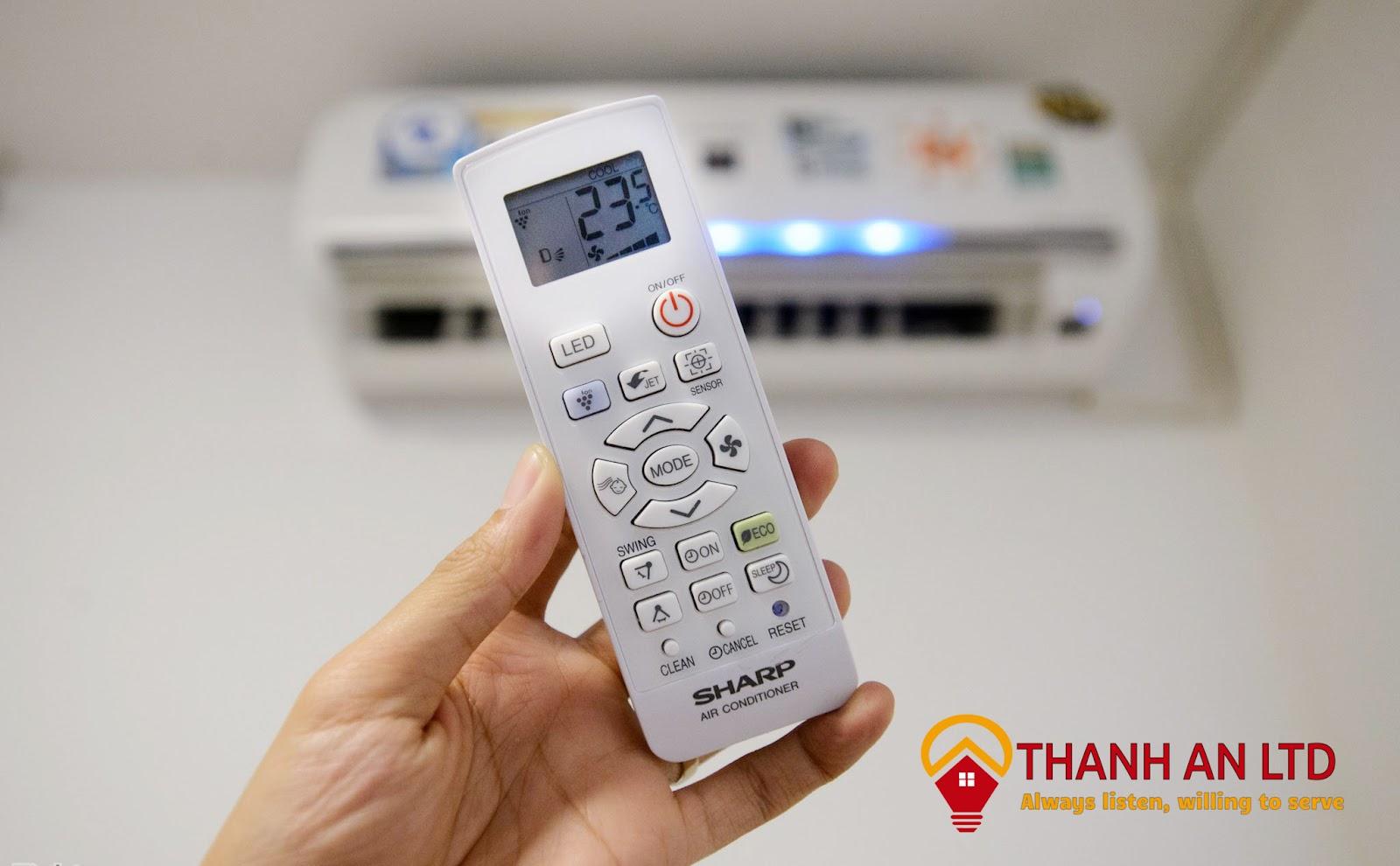 Mở máy trước 15 phút để làm lạnh nguyên phòng