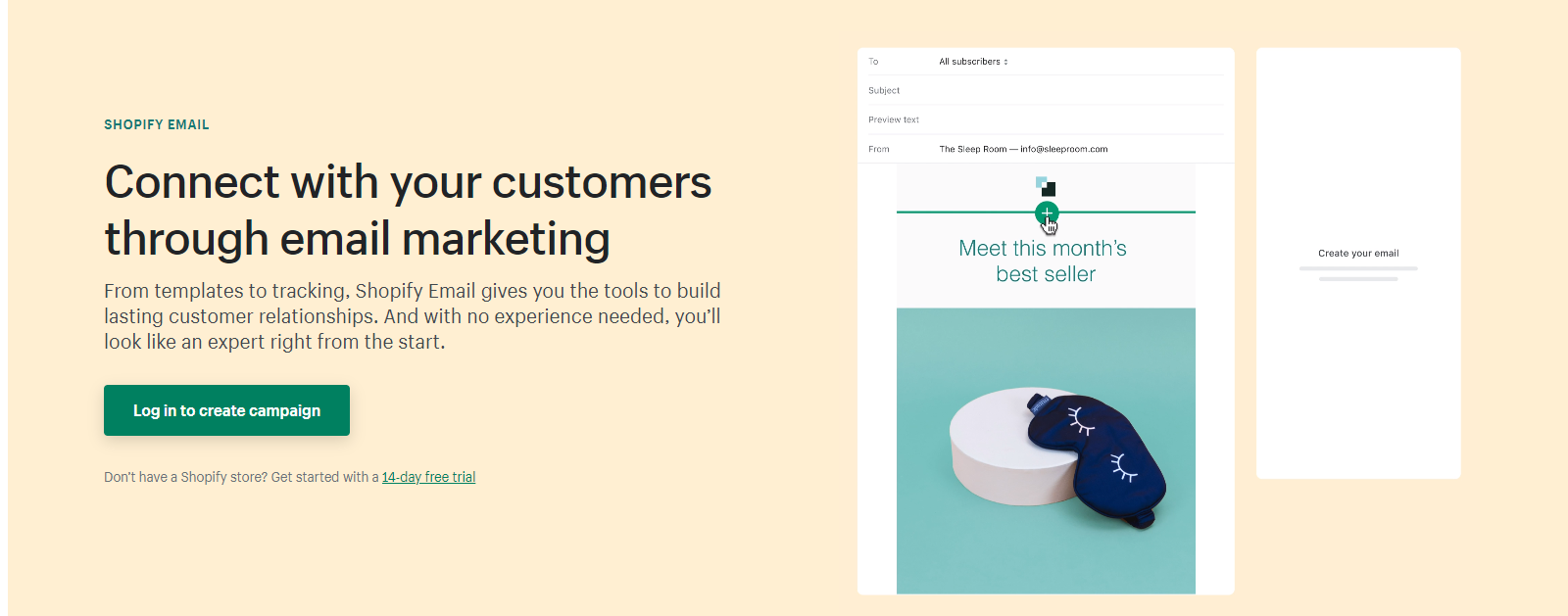 shopify email tool