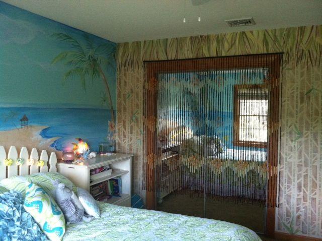 Hawaiian Tropical Bedroom Ideas
