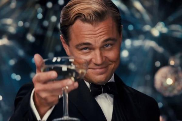 Image result for leonardo dicaprio cheers