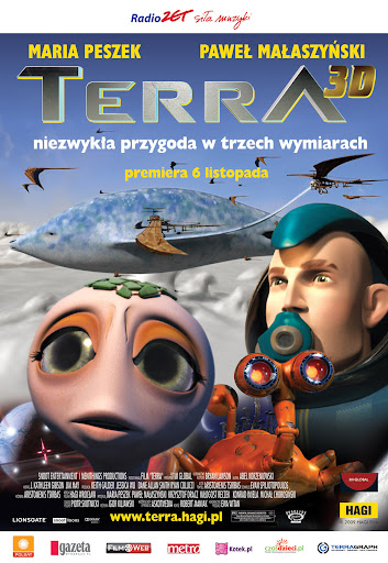 Polski plakat filmu 'Terra'