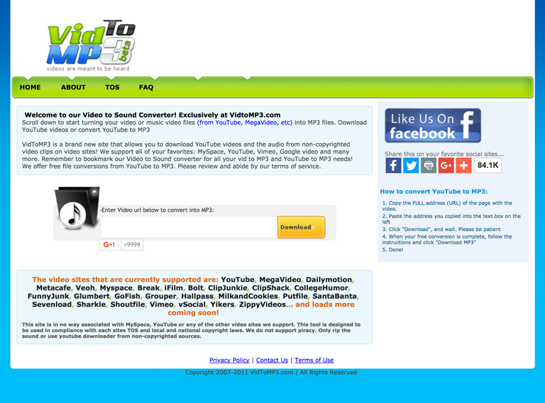 Top 20 Youtube to Mp3: How to Download Music from Youtube of