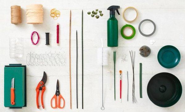 Инструменты и материалы, которые нужны флористу для составления букета