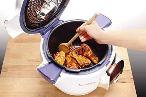Voici la photo d'un plat entrain de mijoter dans le robot cuiseur Cookeo