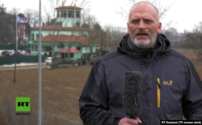Даниэль Ланге в эфире RT