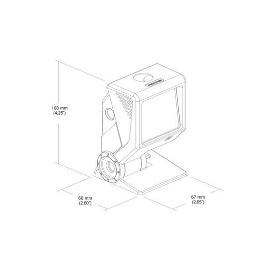 Máy quét mã vạch Honeywell MS3580 QuantumT - ảnh 5