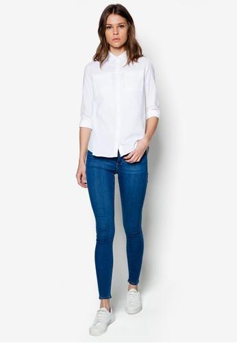 Oversized Shirts Skinny Jeans