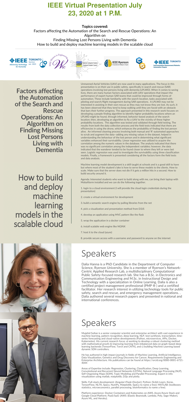 IEEE Virtual Presentation Poster