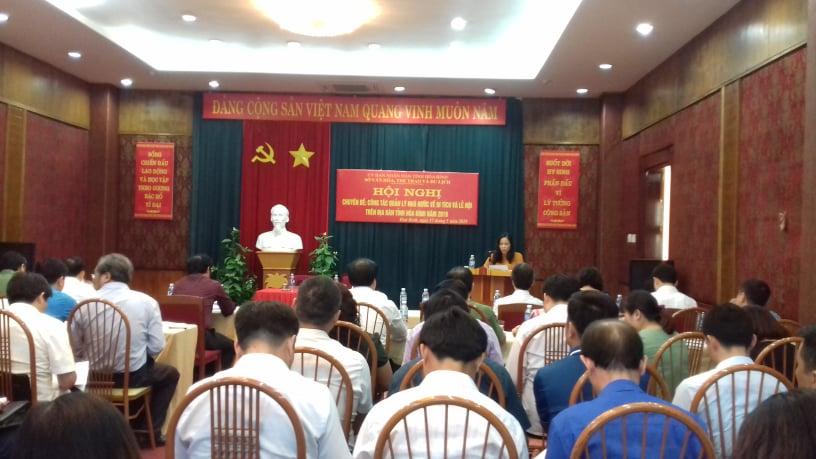 Hội nghị chuyên đề về công tác quản lý Nhà nước về  di tích và lễ hội trên địa bàn tỉnh Hòa Bình